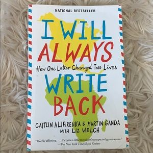 I will always write back book